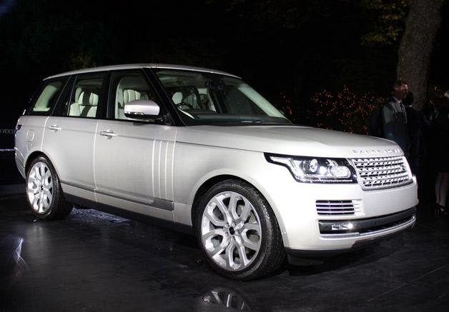 Range Rover - la voiture de nouvelle génération